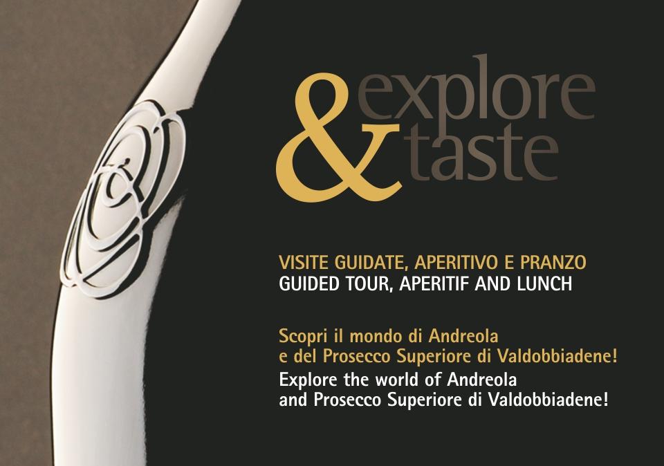 Explore&Taste: un invito alla scoperta e alla degustazione